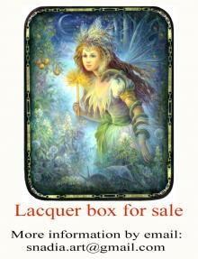 "Lacquer box "" Fairy"" for sale!"